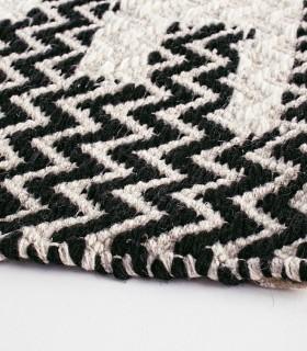 Alfombra Timbuctu blanco-negro 160x230