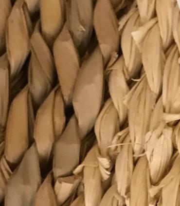 Detalle material Alfombra redonda Algas marinas 120x120x4