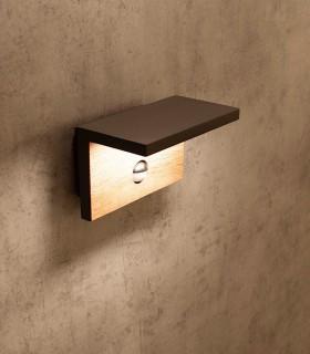 Aplique pared RUKA LED sensor IP-54 6774 Mantra