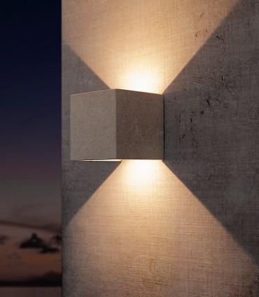 Aplique TAOS 12W cemento IP65 7109 Mantra