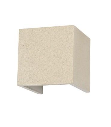 Aplique TAOS Blanco 12W cemento IP65 7109 Mantra