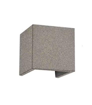Aplique TAOS gris piedra 12W cemento IP65  Mantra