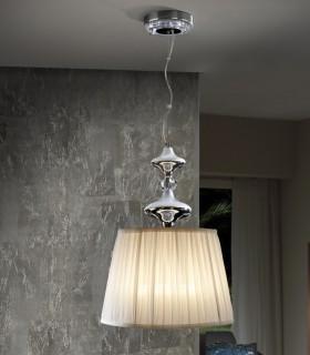Lámpara 35cm OLIVER CROMO - Schuller