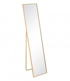 Espejo ORO aluminio- cristal 35x2,5x151 cm.
