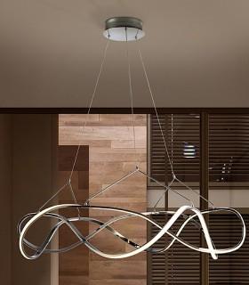 Lámpara led MOLLY 110 cm. cromo - Schuller