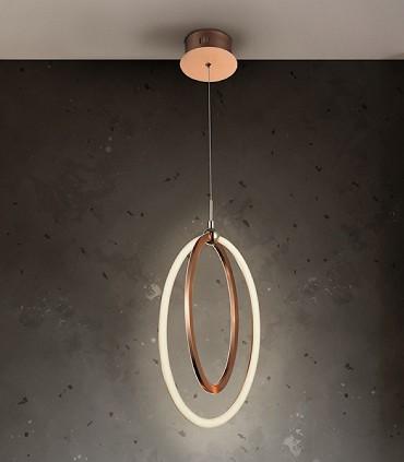 Lámpara led OCELLIS 22 cm. dorada - Schuller
