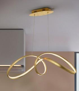 Lámpara LIA pan oro - Schuller