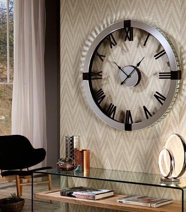 Reloj de pared TIMES 80 cm de Schuller.