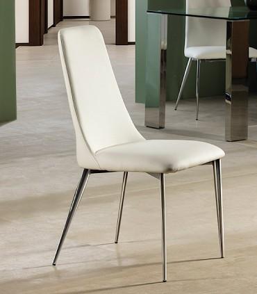 Silla OXFORD blanco de Schuller