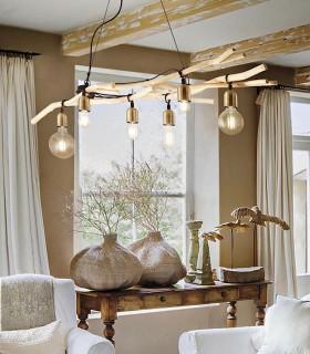 Lámpara DRIFTWOOD SP6 de Ideal Lux