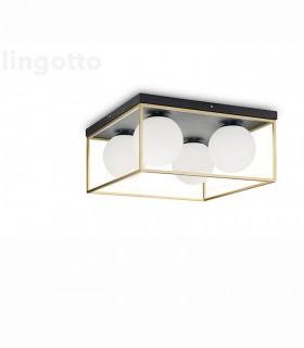 Plafón LINGOTTO PL4 de Ideal Lux