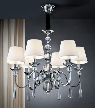 Lámpara MERCURY II metal - Schuller 520783