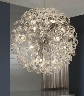 Lámpara NOVA transparente 80cm - Schuller