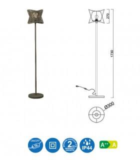 Características Lámpara de pie POLINESIA 7138 Ø30 Mantra