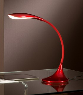 Sobremesa SWAN rojo 5.5W 549234 - Schuller