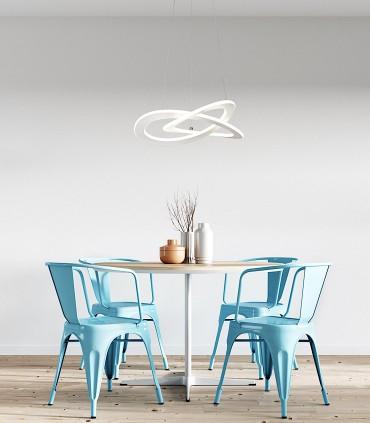 Imagen de ambiente Lámpara de techo PLANET Blanco 40w 7150 Mantra