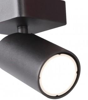 Detalle Foco SAL 1 luz Negro GU10 6713 Mantra