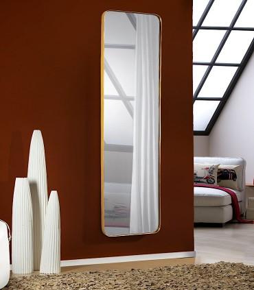 Espejo ORIO rectangular 51x165 oro de Schuller 127417