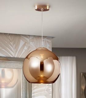 Lámpara ESFERA cobre - Schuller