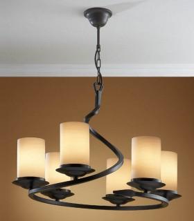 Lámpara  6 luces CRISOL - Schuller
