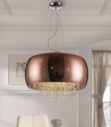 Lámpara CAELUM cobre 6G9 50cm, 618859.
