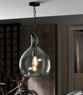 Lámpara LAIA azul 33cm - Schuller 641942