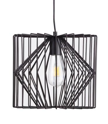 Lámpara de techo Toga negro Ø30cm