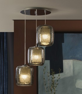 Lámpara AQUA 47cm 3 luces - Schuller