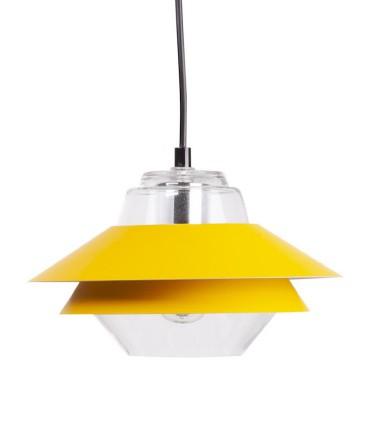 Lámpara de techo POLA Ø23cm mostaza