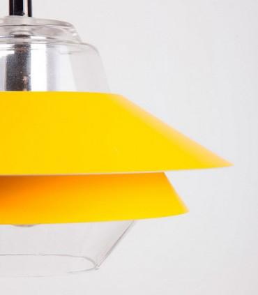 Detalle Lámpara de techo POLA Ø23cm mostaza
