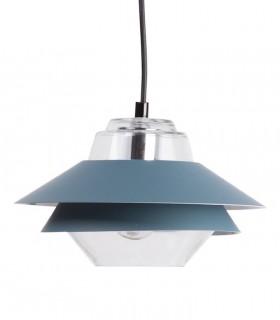 Lámpara de techo POLA azul Ø23cm