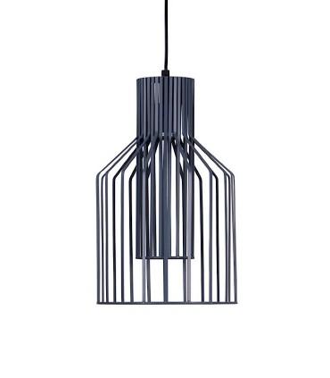 Lámpara de techo COSTUR gris Ø25cm