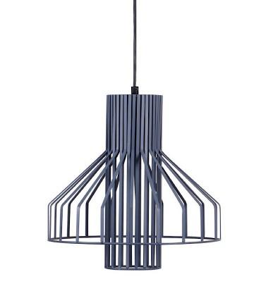 Lámpara de techo CANET gris Ø32cm