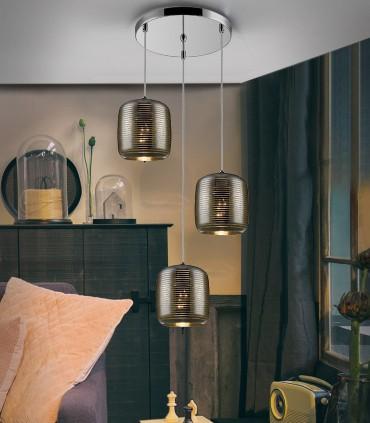 Lámpara VIAS 47cm 3 luces - Schuller 654942