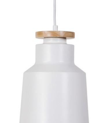 Detalle Lámpara de techo ALCORA blanco Ø20cm