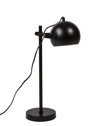 Lámpara sobremesa RIOSA negro Somcasa