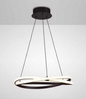 Lámpara de techo INFINITY Led Forja 42W 2800K Mantra