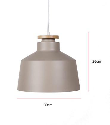 Medidas Lámpara de techo ARTANA  light cofee Ø30cm