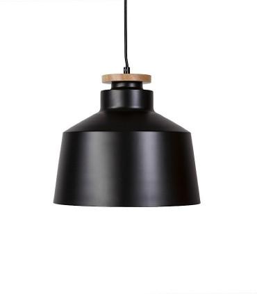 Lámpara de techo ARTANA negro Ø30cm