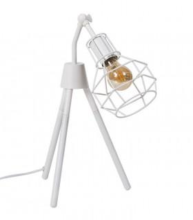 Lámpara sobremesa NAVIA blanco Somcasa