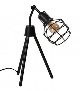 Lámpara sobremesa NAVIA negro Somcasa