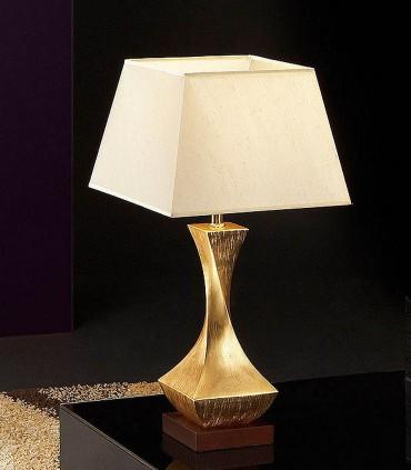 Sobremesa DECO oro pequeña 1 luz - Schuller 662536