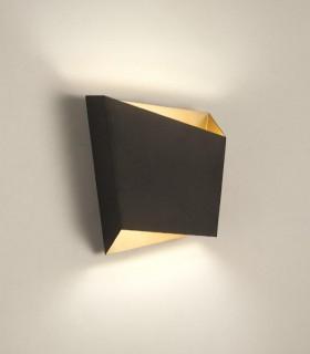 Aplique Asimetric negro-oro 6222 Mantra