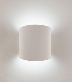 Aplique Asimetric Curvo blanco 6221 Mantra