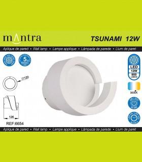 Características Aplique TSUNAMI LED blanco 6654 MANTRA