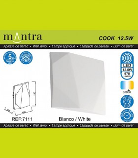 Características Aplique COOK blanco 7111 Mantra