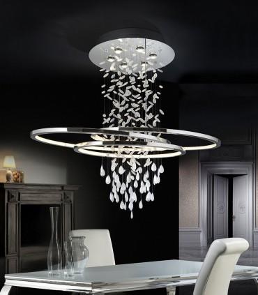 Lámpara BRUMA 6 luces +LED - Schuller 696252