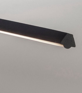 Detalle Lámpara colgante KITESURF LED 30W Negro 7142 Mantra