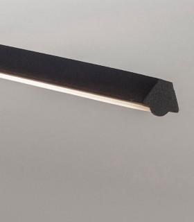 Detalle Lámpara colgante KITESURF LED 30W Negro 7143 Mantra