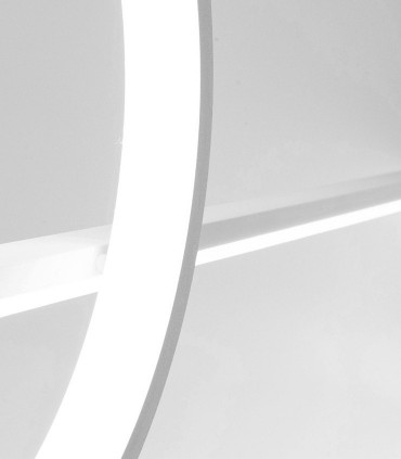 Detalle Lámpara colgante KITESURF LED 30W Blanco 7193 Mantra